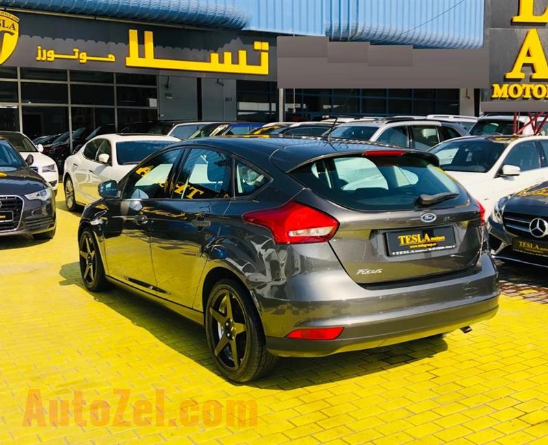 FORD FOCUS///HATCHBACK///GCC///2015///ONE YEAR WARRANTY UNLIMITED KM///WOW! ONLY 474 DHS MONTHLY///