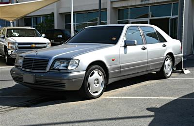 MERCEDES-BENZ S600- 1996- SILVER- 198 000 KM- JAPANESE...