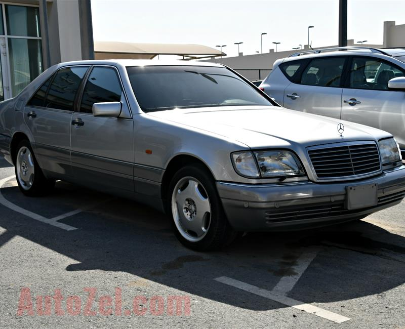 MERCEDES-BENZ S600- 1996- SILVER- 198 000 KM- JAPANESE SPECS