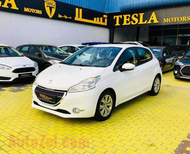 PEUGEOT///208///GCC///2013///SUPER CLEAN///ECONOMIC CAR///STOP RENTING///WOW! ONLY 263 DHS MONTHLY/