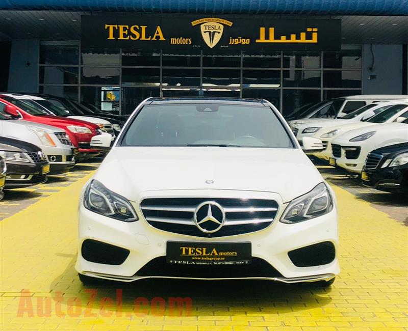 MERCEDES E300///V6///AMG///2016///GCC///EDITION 1///SUPER CLEAN///F/S/H!///ONLY 1,922 DHS MONTHLY///