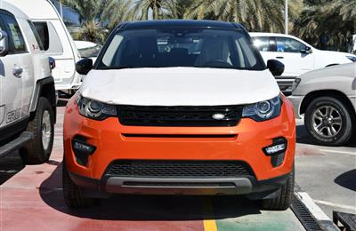 BRAND NEW LAND ROVER SPORT DISCOVERY- 2015- ORANGE- GCC