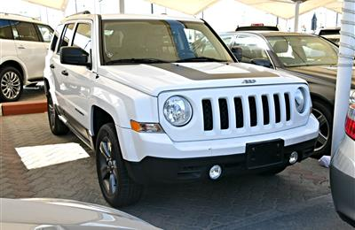 JEEP PATRIOT- 2016- WHITE- 18 000 MILEAGE- AMERICAN SPECS