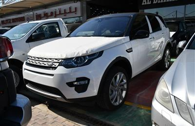 BRAND NEW LAND ROVER SPORT DISCOVERY- 2015- WHITE- GCC...
