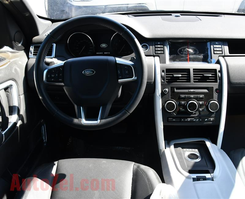 BRAND NEW LAND ROVER SPORT DISCOVERY- 2015- WHITE- GCC SPECS