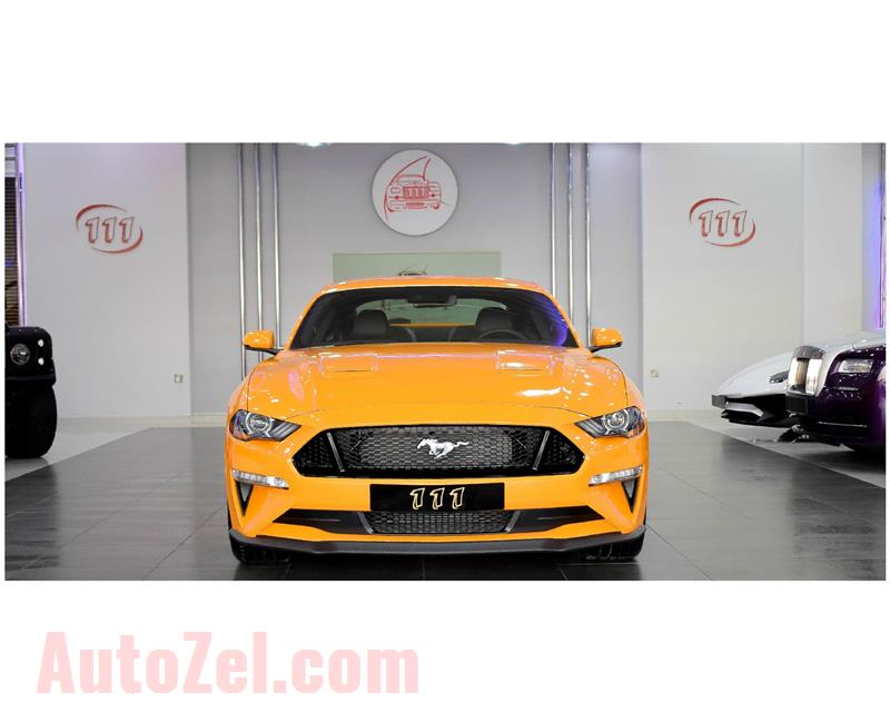 FORD MUSTANG 5.0 GT V8/ PERFORMANCE PKG/ MT