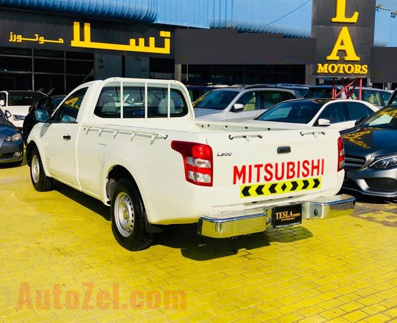 ///LOW MILLAGE///MITSUBISHI L200///2016///GCC///WARRANTY///LIKE BRAND NEW///ONLY 633 DHS MONTHLY/// - AED 38,500