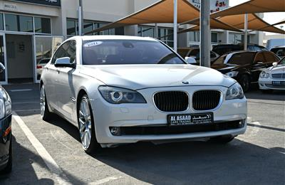BMW 750Li- 2011- WHITE- 176 000 KM- GCC