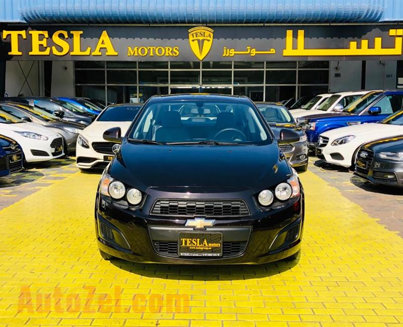 CHEVROLET SONIC///1.6L V4///2015///GCC///WARRANTY///LOW MILEAGE///ECONOMIC///ONLY 261 DHS MONTHLY///
