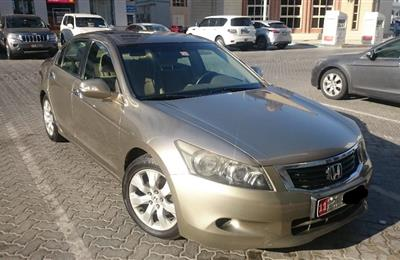 Honda Accord 2008 GCC, with excellent condition