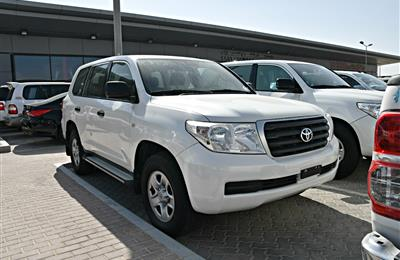 TOYOTA LAND CRUISER- 2010- WHITE- 140 000 KM- GCC