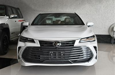 TOYOTA AVALON LIMITED- 2019- WHITE- GCC SPECS