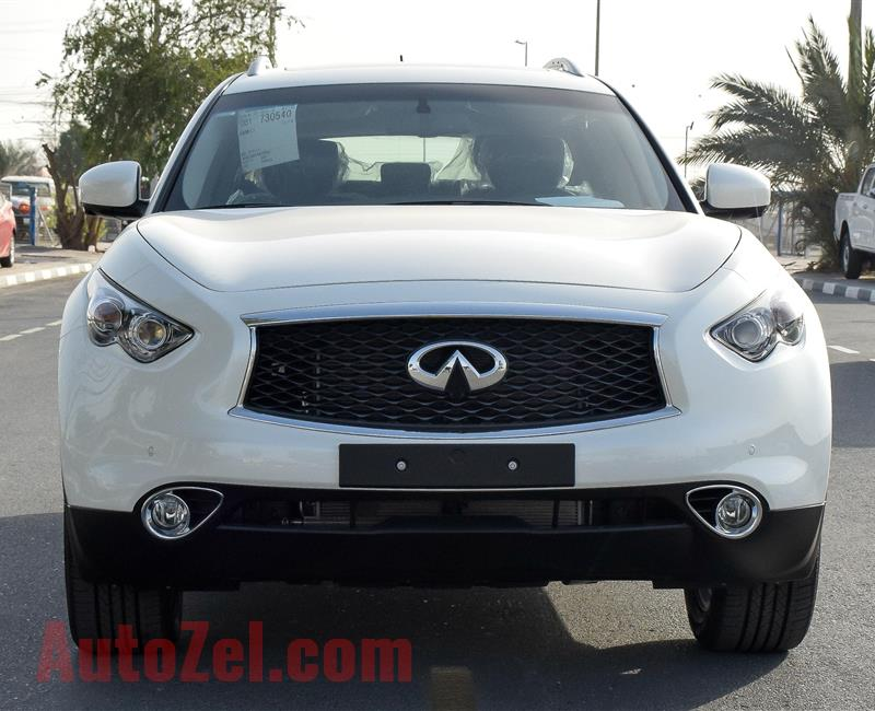 INFINITI QX70 Excellence 2019 - 0km - GCC Specs - NAVIGATION - LEATHER SEATS-4 CAMERA - WITH AGENCY WARRANTY