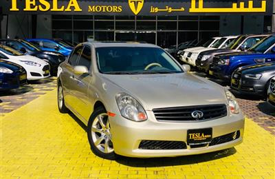 INFINITI G35///3.5L V6///GCC///2005///FULL OPTION///SUPER...
