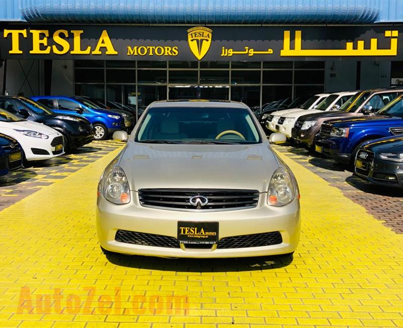 INFINITI G35///3.5L V6///GCC///2005///FULL OPTION///SUPER CLEAN///CREDIT CARD PAYMENT ACCEPTED///