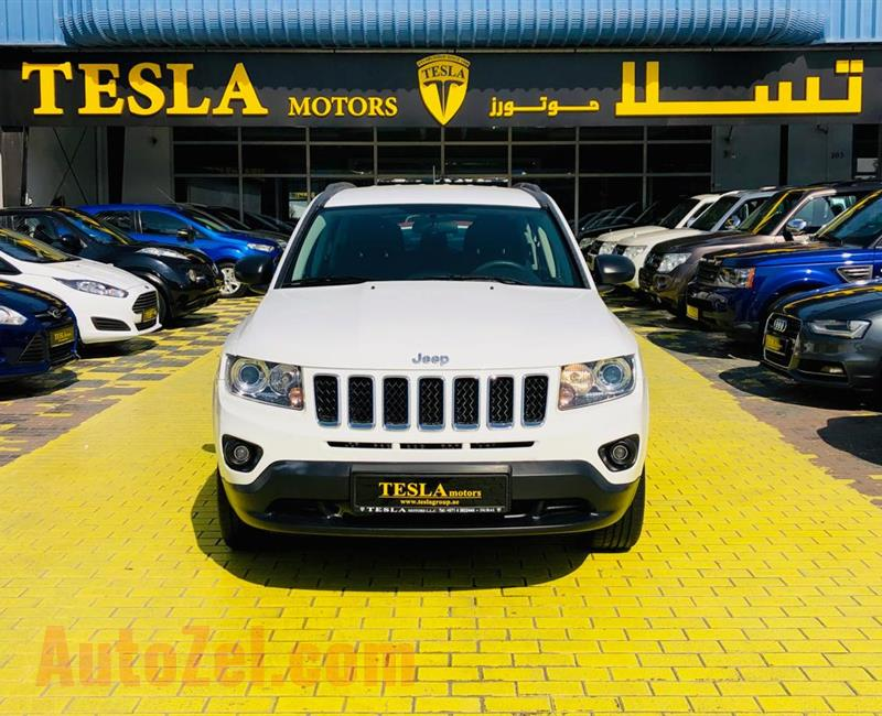 ///LOW MILEAGE///JEEP COMPASS///2.4L V4///AWD///GCC///2014///WARRANTY///WOW! ONLY 459 DHS MONTHLY///