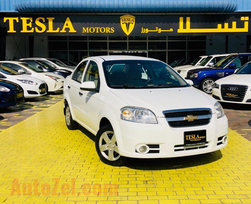 CHEVROLET AVEO///1.4L V4///2015///GCC///WARRANTY///LOW MILEAGE///ECONOMIC///ONLY 243 DHS MONTHLY!///