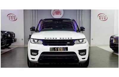 LAND ROVER RANGE ROVER SPORT AUTOBIOGRAPHY- 2014- WHITE-...