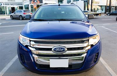Ford Edge 2014 Blue Colour 92,000km