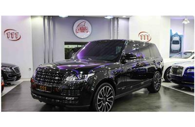 LAND ROVER RANGE ROVER AUTOBIOGRAPHY- 2016- BLACK- 42 000...