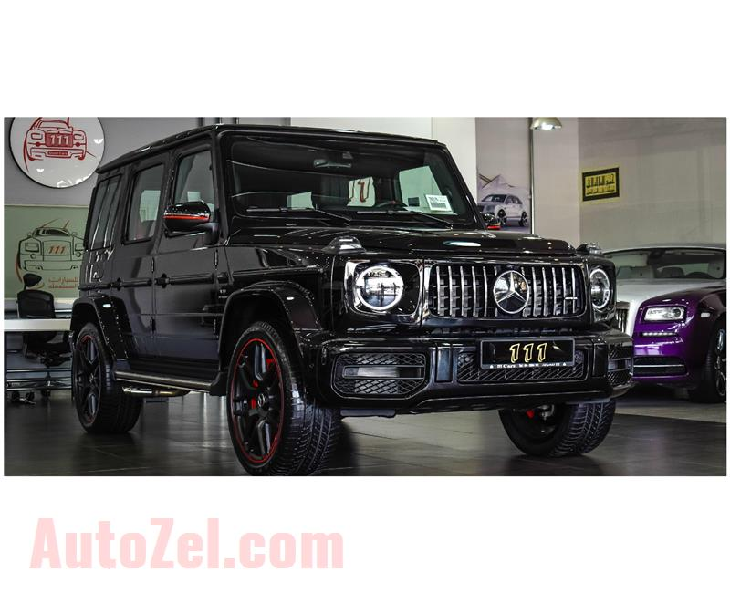 BRAND NEW MERCEDES-BENZ G63 AMG V8 BITURBO BLACK EDITION- 2019- BLACK- CAN BE EXPORT