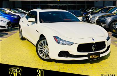 Ghibli///V6///2014///GCC///AL TAYER WARRANTY UNLIMITED...