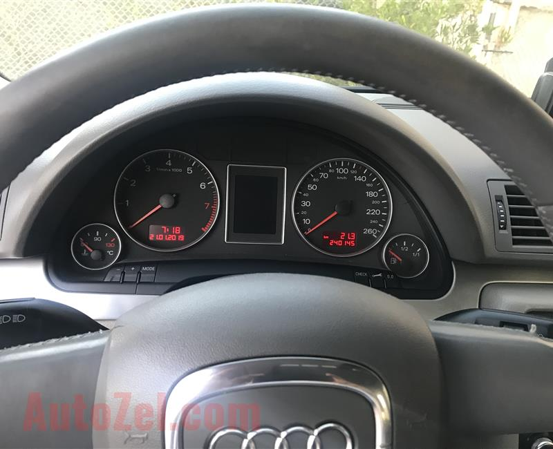 Audi A4 S-Line Turbo 2.0 Lady driven