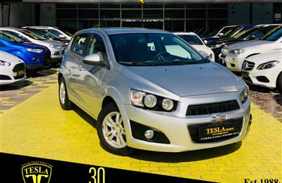 CHEVROLET SONIC///HATCHBACK///2015///GCC///ONE YEAR...