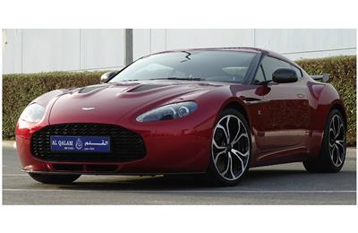 BRAND NEW ASTON MARTIN ZAGATO- 2013- RED- GCC SPECS-...