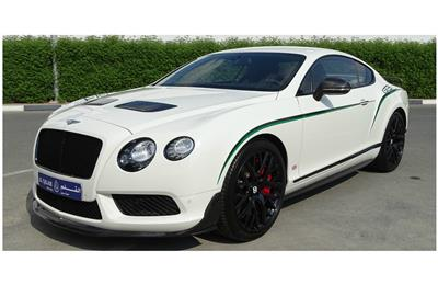 BENTLEY GT3 R- 2015- WHITE- 6 000 KM- GCC SPECS- 1 OF THE...
