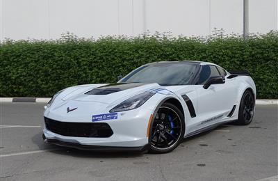 CHEVROLET CORVETTE Z06 65th CARBON- 2018- WHITE- 14 000...