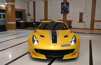 BRAND NEW FERRARI F12 TDF- 2016- YELLOW- GCC SPECS- 1 OF...