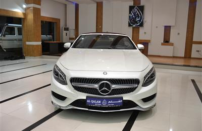 NEW MERCEDES-BENZ S500 CONVERTIBLE- 2017- WHITE- GERMAN...