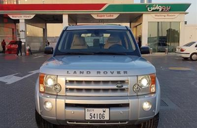 land rover LR3 2007 fully loaded  in excellent condition