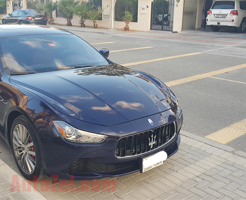 Maserati Ghibli S Premium, 2014, 410 HP, valid warranty Full service history with agency