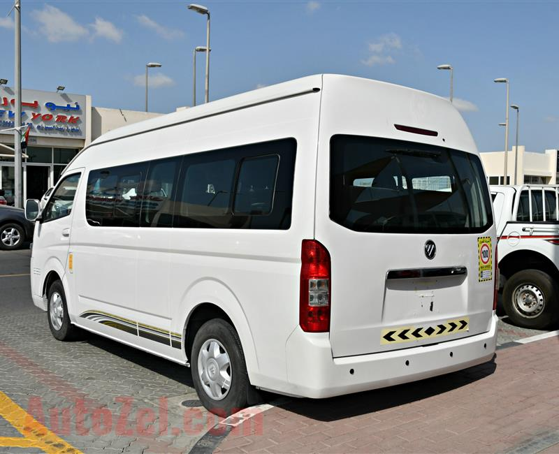 foton model 2016 - white - 127,000 km