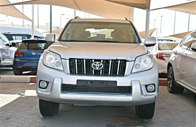 TOYOTA LAND CRUISER  PRADO TXL  model 2012 - silver -...