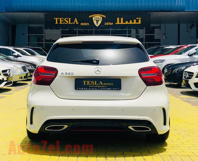 ///A250 ///AMG / GCC / 2017 / WARRANTY 10-APRIL 2022 / FULL SERVICE HISTORY / ONLY 1,988 DHS MONTHLY