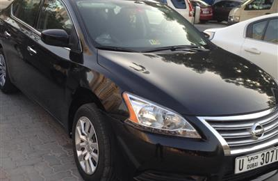 Nissan Sentra 2014 fully auto lady driven in vgc 18500 dhs