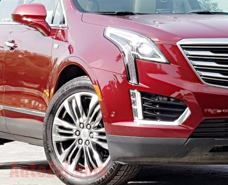 LOW MILEAGE 24000KM.CADILLAC XT5.GCC UNDER WARRANTY..ALMOST BRAND NEW CAR