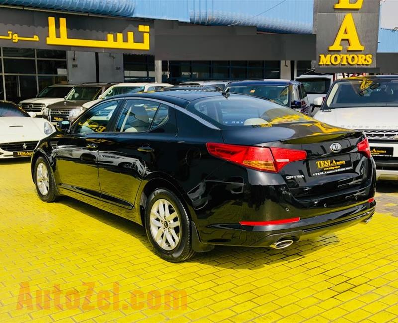 KIA OPTIMA / GCC / 2.4L V4 / 2013 / WARRANTY / SUPER CLEAN / STOP RENTING / ONLY 409 DHS MONTHLY!!!!