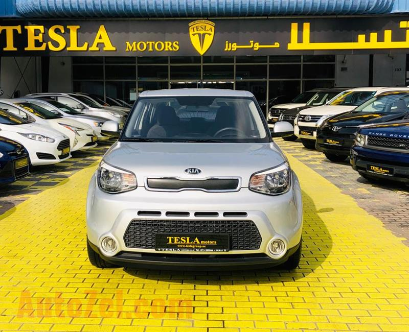 Soul / GCC / 2016 / ONLY 11,600 KM / WARRANTY / LIKE BRAND NEW / WOW! THEN ONLY 540 DHS MONTHLY!!!