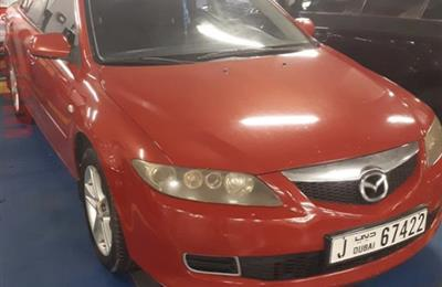 Mazda 6, Red, 2006, Dhs. 5000 (negotiable)