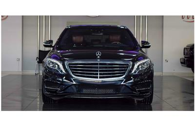 MERCEDES-BENZ S550- 2015- BLACK- 42 000 KM