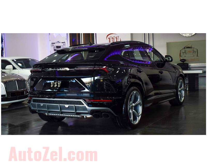 BRAND NEW LAMBORGHINI URUS- 2019- BLACK- GCC SPECS- WITH 3YRS WARRANTY