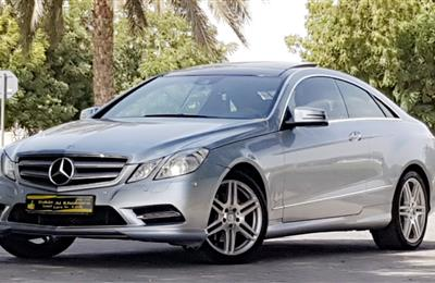 MERCEDES E350 ///AMG.LOW MILEAGE 70000KM..ALMOST BRAND NEW...