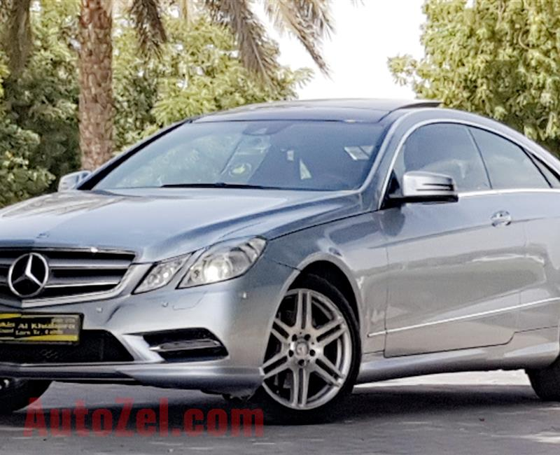 MERCEDES E350 ///AMG.LOW MILEAGE 70000KM..ALMOST BRAND NEW CAR.UNDER WARRANTY
