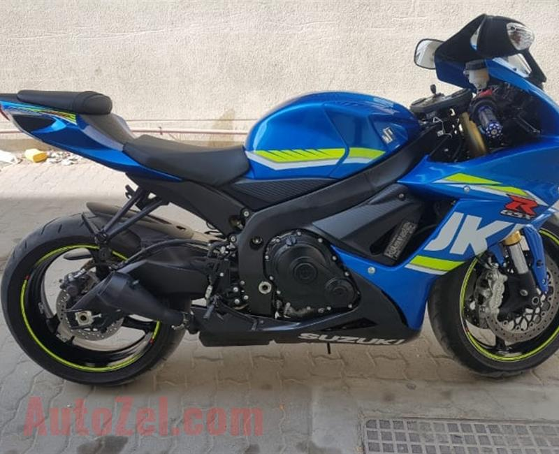 2017 Suzuki gsx-r for sale in good condition.