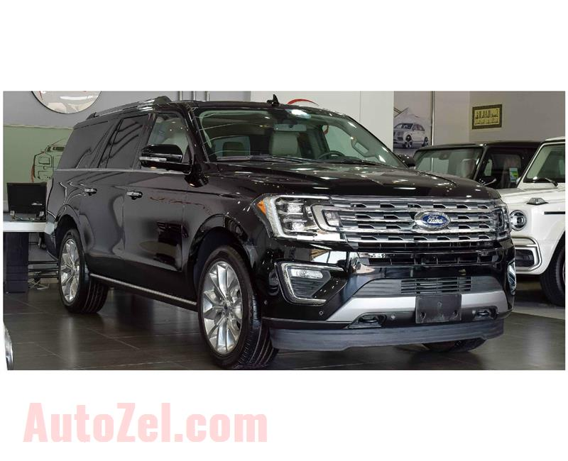 FORD EXPEDITION LIMITED MX 4X4 3.5L- 7 SEATER- 2018- BLACK- 6 CYLINDER