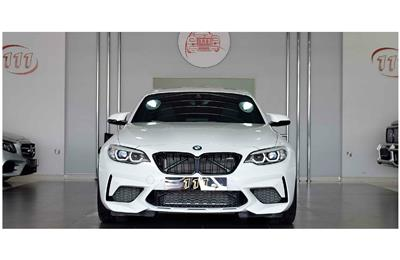 BMW M2 COMPETITION PACKAGE- 2019- WHITE- 4 000 KM- GCC...